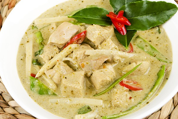 Coconut Curry Chicken and Vegetable