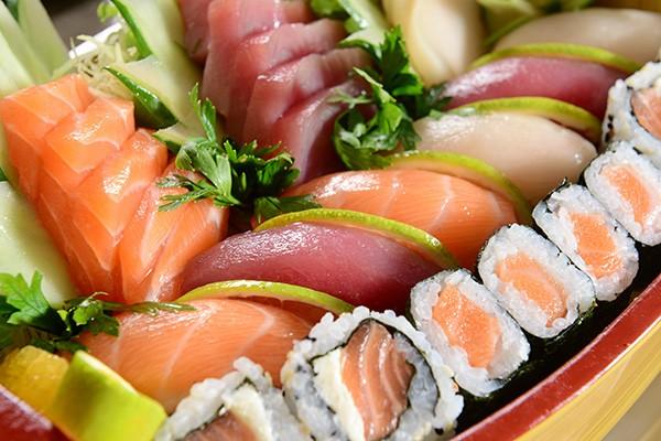 Assorted Sushi & Sashimi